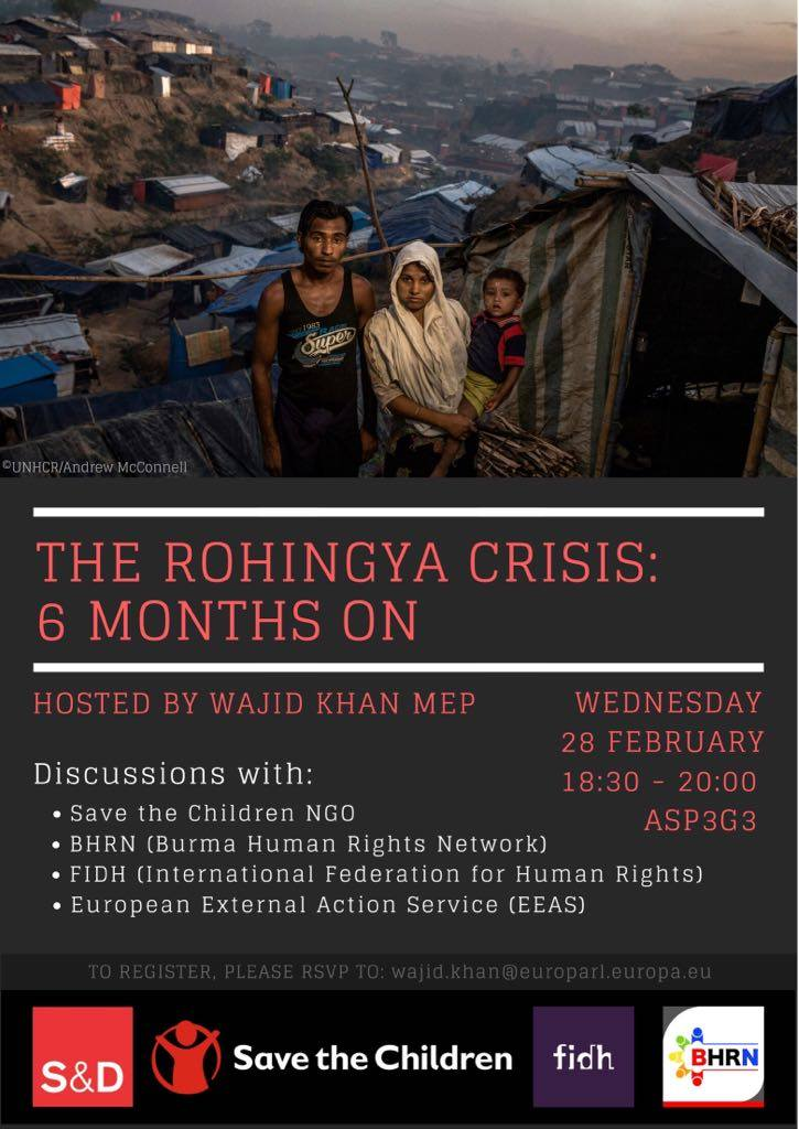 The ROHINGYA crisis : 6 Months on